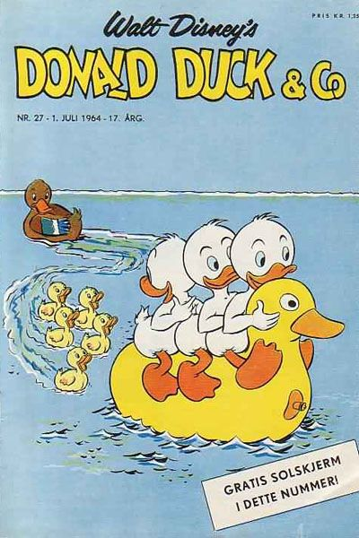 Cover for Donald Duck & Co (Hjemmet / Egmont, 1948 series) #27/1964