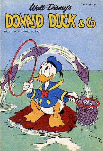 Cover for Donald Duck & Co (Hjemmet / Egmont, 1948 series) #31/1964
