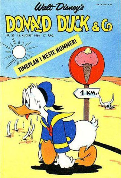 Cover for Donald Duck & Co (Hjemmet / Egmont, 1948 series) #33/1964