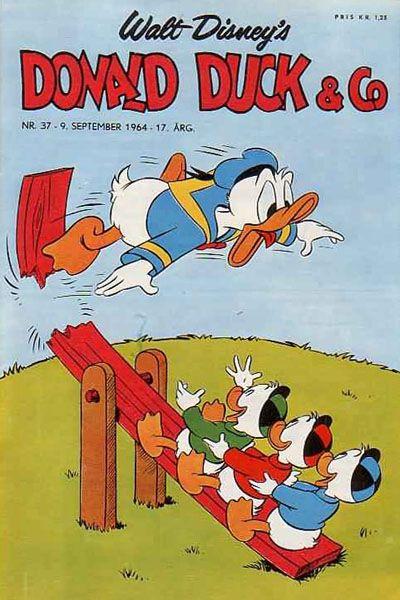 Cover for Donald Duck & Co (Hjemmet / Egmont, 1948 series) #37/1964