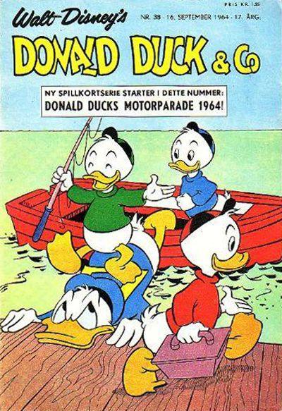 Cover for Donald Duck & Co (Hjemmet / Egmont, 1948 series) #38/1964
