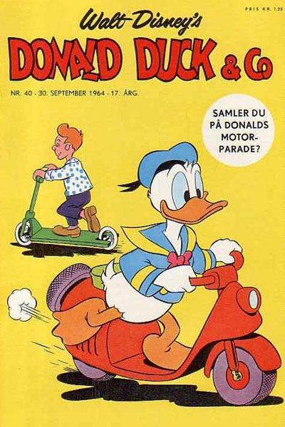 Cover for Donald Duck & Co (Hjemmet / Egmont, 1948 series) #40/1964
