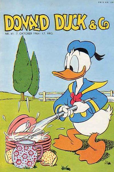 Cover for Donald Duck & Co (Hjemmet / Egmont, 1948 series) #41/1964