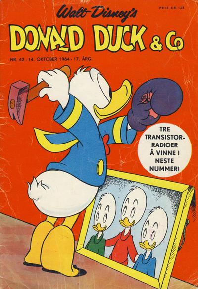 Cover for Donald Duck & Co (Hjemmet / Egmont, 1948 series) #42/1964