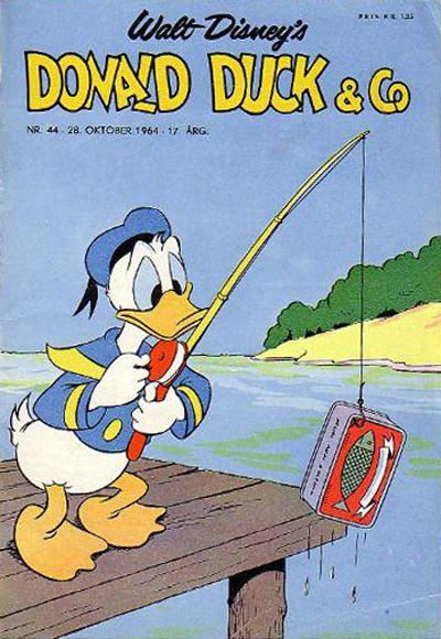Cover for Donald Duck & Co (Hjemmet / Egmont, 1948 series) #44/1964