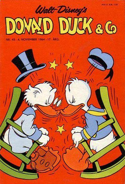 Cover for Donald Duck & Co (Hjemmet / Egmont, 1948 series) #45/1964