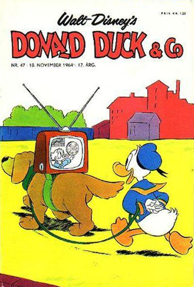 Cover for Donald Duck & Co (Hjemmet / Egmont, 1948 series) #47/1964
