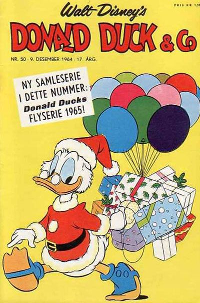 Cover for Donald Duck & Co (Hjemmet / Egmont, 1948 series) #50/1964
