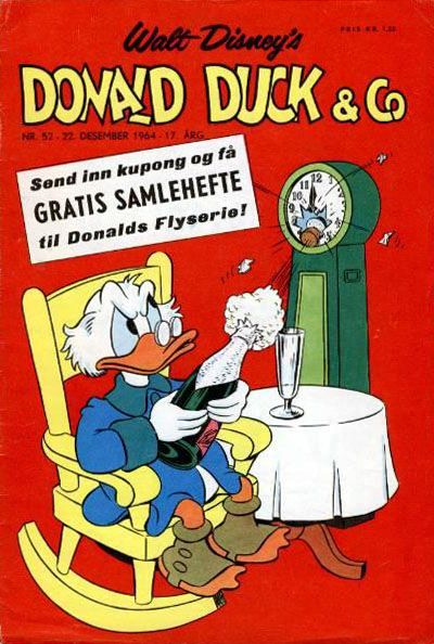 Cover for Donald Duck & Co (Hjemmet / Egmont, 1948 series) #52/1964