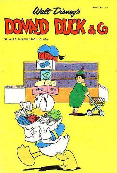 Cover for Donald Duck & Co (Hjemmet / Egmont, 1948 series) #4/1965