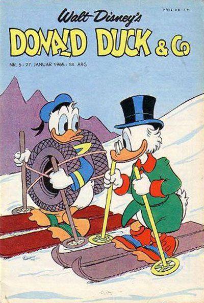 Cover for Donald Duck & Co (Hjemmet / Egmont, 1948 series) #5/1965