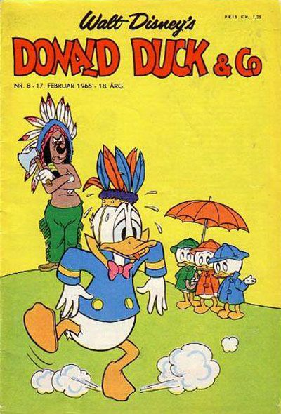 Cover for Donald Duck & Co (Hjemmet / Egmont, 1948 series) #8/1965