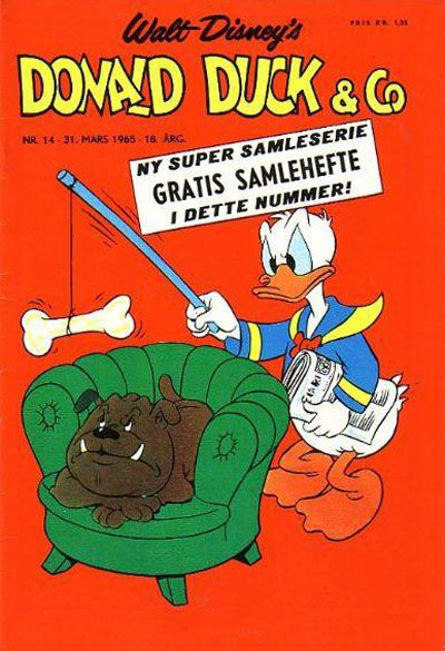 Cover for Donald Duck & Co (Hjemmet / Egmont, 1948 series) #14/1965