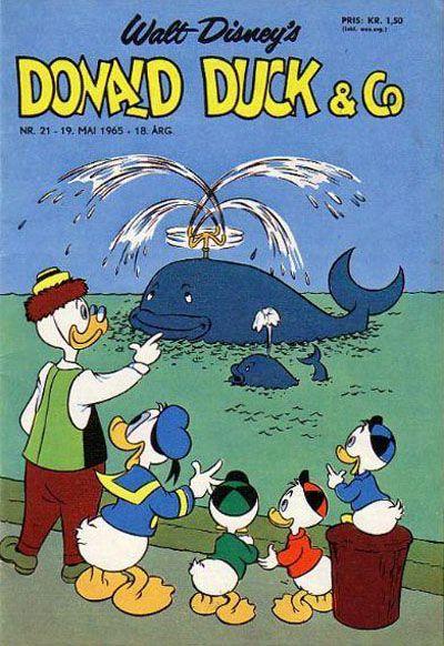 Cover for Donald Duck & Co (Hjemmet / Egmont, 1948 series) #21/1965