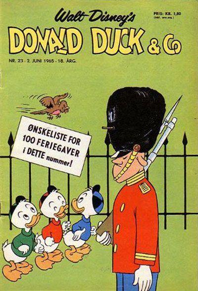 Cover for Donald Duck & Co (Hjemmet / Egmont, 1948 series) #23/1965