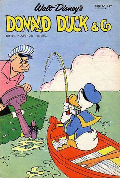 Cover for Donald Duck & Co (Hjemmet / Egmont, 1948 series) #24/1965