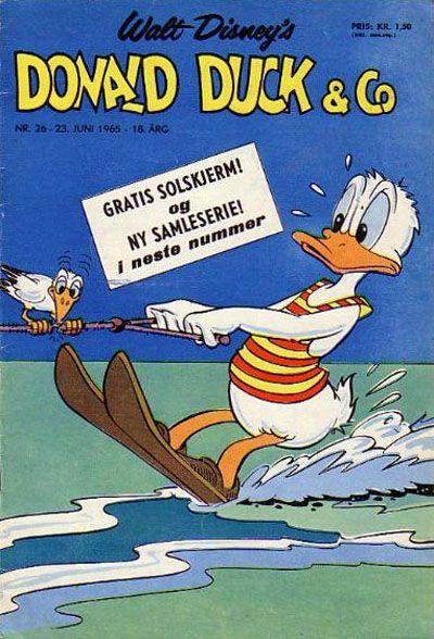 Cover for Donald Duck & Co (Hjemmet / Egmont, 1948 series) #26/1965