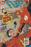 Cover for Flash (DC, 1987 series) #77 [Newsstand Edition]