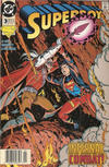 Cover for Superboy (DC, 1994 series) #3 [Newsstand]