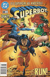 Cover for Superboy (DC, 1994 series) #28 [Newsstand]