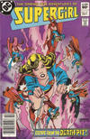 Cover Thumbnail for The Daring New Adventures of Supergirl (1982 series) #12 [Newsstand]