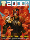 Cover for 2000 AD (Rebellion, 2001 series) #2020