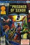 Cover for Marvel Classics Comics (Marvel, 1976 series) #29 - The Prisoner of Zenda [British Price Variant]