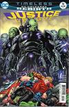 Cover for Justice League (DC, 2016 series) #16 [Fernando Pasarin / Matt Ryan Cover]