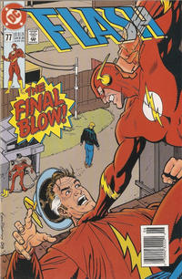 Cover Thumbnail for Flash (DC, 1987 series) #77 [Newsstand]