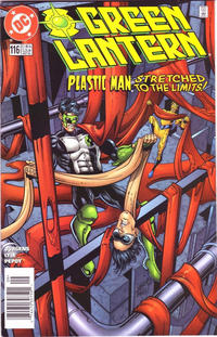 Cover Thumbnail for Green Lantern (DC, 1990 series) #116 [Newsstand]
