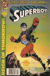 Cover Thumbnail for Superboy (DC, 1994 series) #1 [Newsstand]