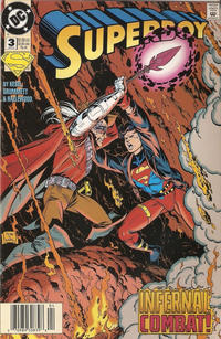 Cover Thumbnail for Superboy (DC, 1994 series) #3 [Newsstand]