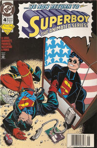 Cover Thumbnail for Superboy (DC, 1994 series) #4 [Newsstand]