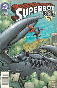 Cover Thumbnail for Superboy (DC, 1994 series) #26 [Newsstand]