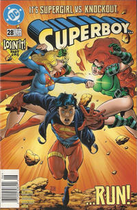 Cover Thumbnail for Superboy (DC, 1994 series) #28 [Newsstand]