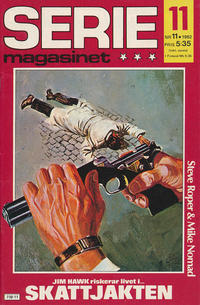 Cover Thumbnail for Seriemagasinet (Semic, 1970 series) #11/1982