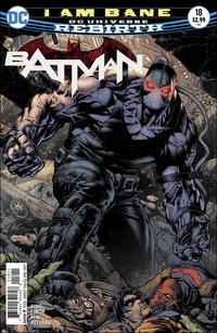 Cover Thumbnail for Batman (DC, 2016 series) #18