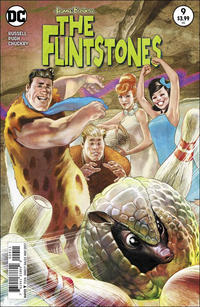 Cover Thumbnail for The Flintstones (DC, 2016 series) #9 [Steve Pugh Cover Variant]