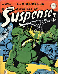Cover Thumbnail for Amazing Stories of Suspense (Alan Class, 1963 series) #75