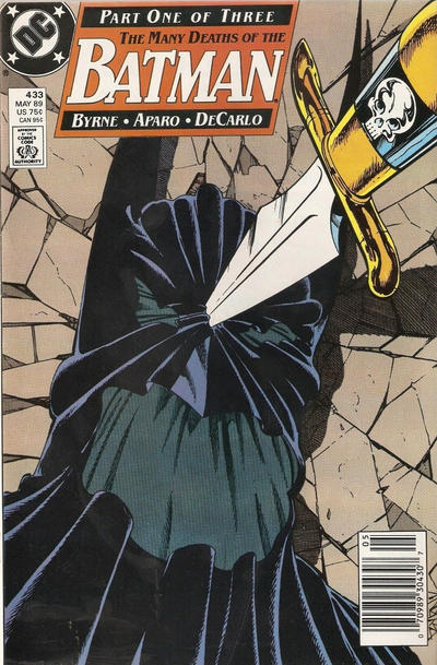 Cover for Batman (DC, 1940 series) #433 [Direct Edition]