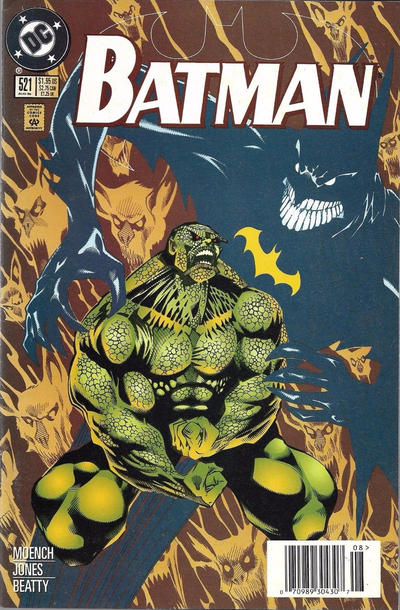 Cover for Batman (DC, 1940 series) #521 [Direct Edition]