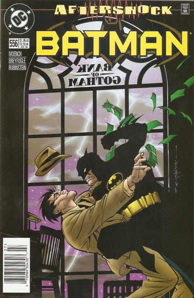 Cover for Batman (DC, 1940 series) #556 [Direct Edition]