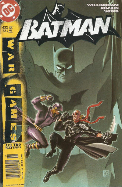 Cover for Batman (DC, 1940 series) #632 [Direct Edition]