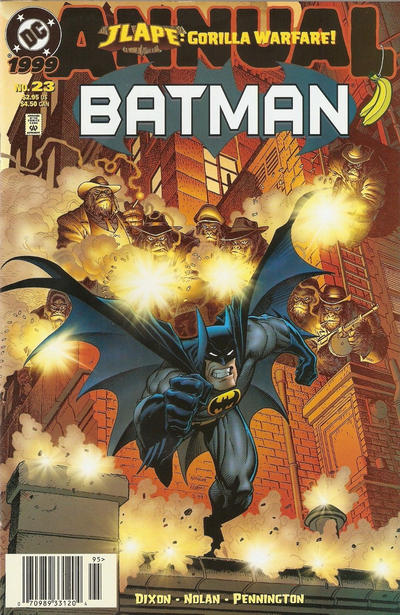 Cover for Batman Annual (DC, 1961 series) #23 [Direct Edition]