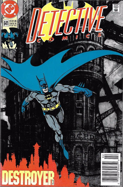 Cover for Detective Comics (DC, 1937 series) #641 [Direct Edition]