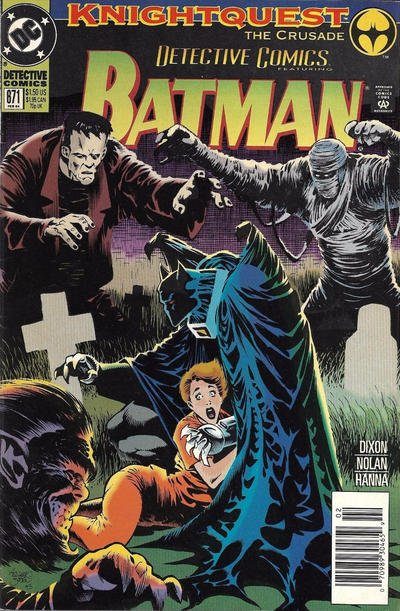 Cover for Detective Comics (DC, 1937 series) #671 [Direct Edition]