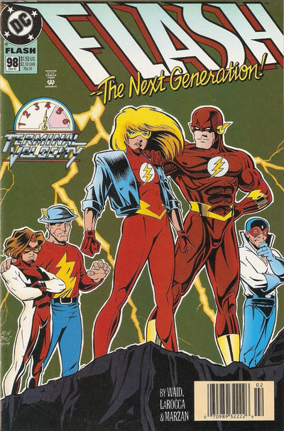 Cover for Flash (DC, 1987 series) #98 [Direct Sales]