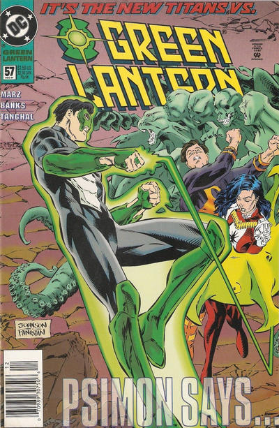 Cover for Green Lantern (DC, 1990 series) #57 [Direct Edition]