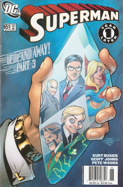 Cover for Superman (DC, 2006 series) #651 [Direct Edition]