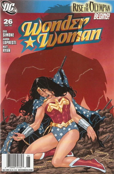 Cover for Wonder Woman (DC, 2006 series) #26 [Direct Edition]